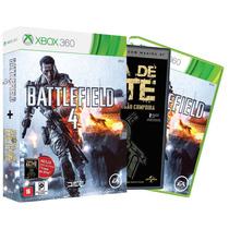 Jogo Battlefield 4 Edição Limitada + Tropa De Elite Xbox 360
