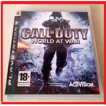 Playstation 3 - Call Of Duty World At War - Ps3