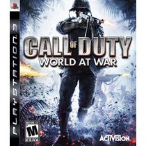 Call Of Duty World At War Ps3 Original Pronta Entrega