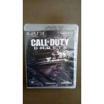 Call Of Duty Ghosts Ps3 Edição Especial C/ Camiseta + Poster