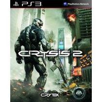 Jogo Novo Lacrado Crysis 2 3d Para Ps3 Playstation 3 Eagames