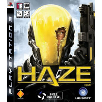 Jogo Lacrado Haze De Tiro Exclusivo Para Playstation 3