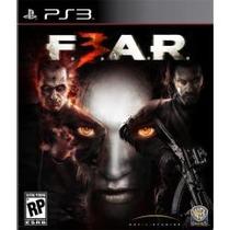 Jogo Lacrado Região 2 Fear F.e.a.r. 3 Para Ps3 Playstation 3