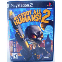 Destroy All Humans! 2 Ps2 Orig. Amer. Completo Perf Leilao