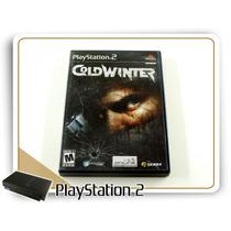 Ps2 Cold Winter Original Playstation 2