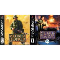 Coleção Medal Of Honor - 2 Jogos P/ Ps2 - Games Patch