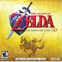 Jogo Zelda Ocarina Of Time 3ds 2ds Nint Raridade Novo Lacra