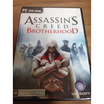 Jogo Para Pc Assassins Creed Brotherhood Original Pt-portuga