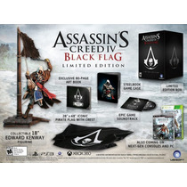 Assassins Creed Iv Black Flag - Limited Edition - Xbox 360