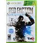 Red Faction Armageddon L A C R A D O Original 360 Americano