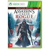 Assassins Creed Rogue Signature Xbox 360 Português Lacrado