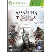 Assassins Creed 3 + 4 + Liberation American Collect Xbox 360