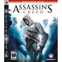 Assassins Creed Ps3 Lacrado Greatest Hits , + Barato Do Ml