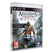 Assassins Creed 4 Black Flag Iv Português Ps3 Blu-ray Origin