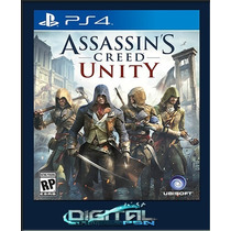 Assassins Creed Unity Pré-venda 18/11 Ps4 Código Psn