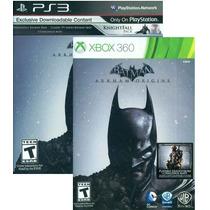 Batman Arkham Origins - Ps3 Ou Xbox 360 Dublado Em Português