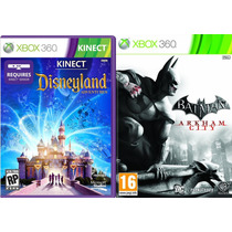 Kinect Disneyland Adventures + Batman Arkham City Xbox 360