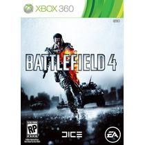 Battlefield 4 Xbox 360 Bf4 - Em Português Em Disco