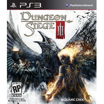Dungeon Siege 3 Iii Ps3 Completo Original Com Códigos Ainda