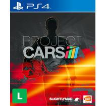 Project Cars Ps4 Original E Lacrado S/ Juros Frete Grátis