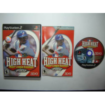High Heat Major League Baseball 2002 Play2 Completo Original