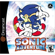 Cd-dreamcast-sonic Adventure-sega All Stars-importado-ot Est