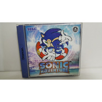 Sonic Adventure Sega Dreamcast Original Europeu - Completo