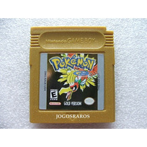 Pokemon Gold Original Americano!! Bateria Nova + Garantia!!