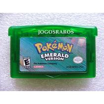 Gba: Pokemon Emerald Original Americano! Bateria Nova! Raro!