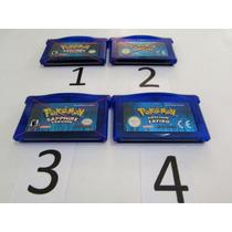 Game Boy Advance Pokemon Sapphire Original Bateria Nova