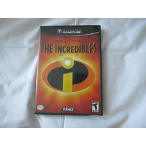 Jogo The Incredibles Disney Pixar C/manual Game Cube