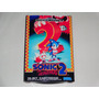 Caixa Sonic Hedgehog 2 Mega Drive (replica Em Tamanho Real)