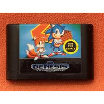 Cartucho Sonic 2 Mega Drive Original Americano