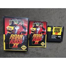 Road Rash Ii 2 Original Americano Com Caixa E Manual !!