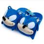 Pantufa Sonic The Headhog Sega Mega Drive Chinelo
