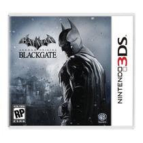 Batman: Arkham Origins Blackgate Jogo Para Nintendo 3ds