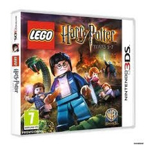 Jogo Lacrado Lego Harry Potter Years 5 - 7 Para Nintendo 3ds