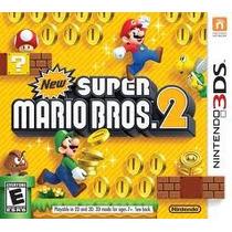 Jogo New Super Mario Bros 2 Lacrado Original Do Nintendo 3ds