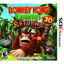 Donkey Kong Country Returns 3d - Nintendo 3ds - Novo Lacrado