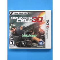 Splinter Cell 3d - Nintendo 3ds - Lacrado - Pronta Entrega.