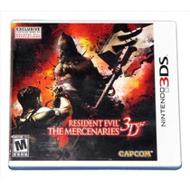 Resident Evil - The Mercenaries 3d - Americano - Lacrado!