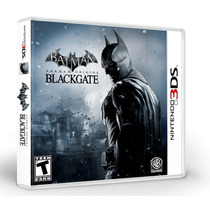 Batman Arkham Origins Blackgate 3ds Lacrado.