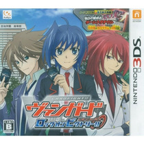 Cardfight!! Vanguard: Lock On Victory! 3ds Japonês ! Raro!!
