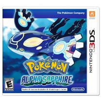 Jogo Pokemon Alpha Sapphire Nintendo 3ds - Original Lacrado