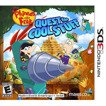 Phineas And Ferb: Quest For Coll Stuff Nintendo 3ds - Novo