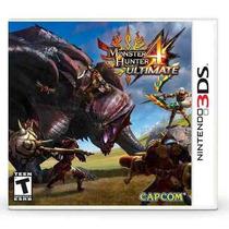 Jogo Monster Hunter 4 Ultimate - Nintendo 3ds