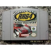Rr64 Ridge Racer 64 Original De Nintendo 64 Raridade Veja +