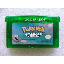 Pokémon Emerald Original Americano!! Selo De Autenticidade!!