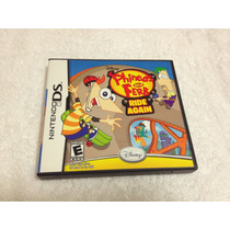 Phineas And Ferb Ride Again (nintendo Ds, 2010) Completo