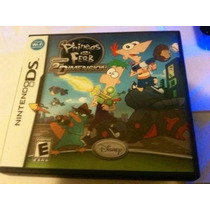 Phineas And Ferb Across The 2nd Dimension(nintendo Ds, 2011)